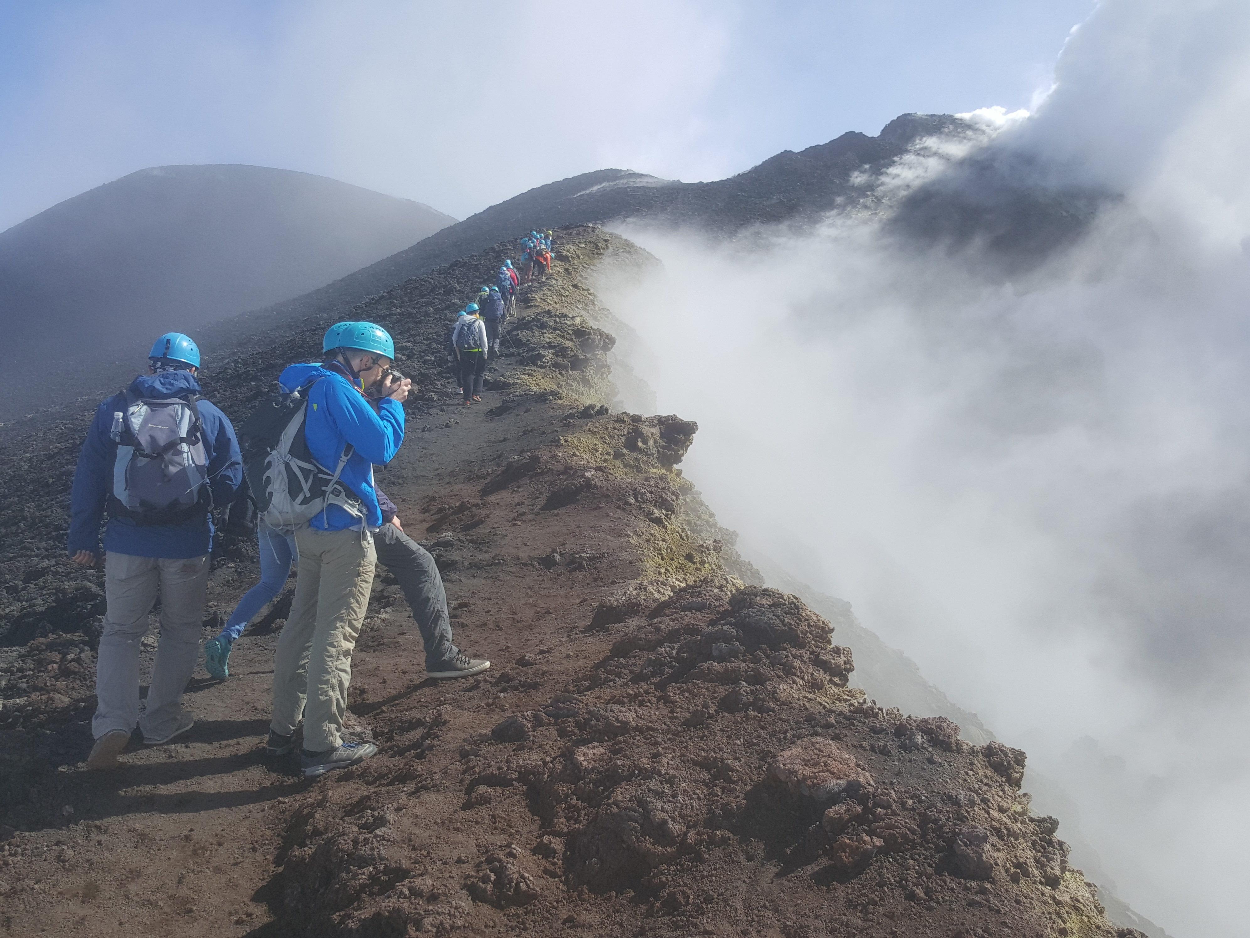 Etna Crateri Trekking