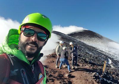 Etna Crateri sommitali Luca Maugeri Guida Vulcanologica